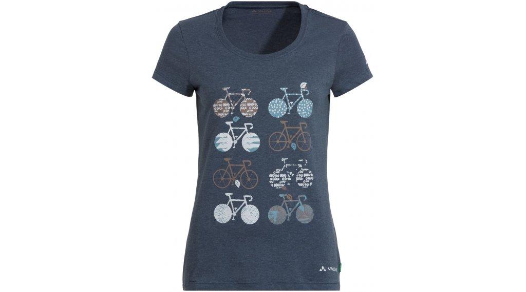 VAUDE Cyclist V T-Shirt kurzarm Damen Gr. 36 steelblue