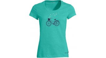 VAUDE Cyclist V T-Shirt kurzarm Damen Gr. 34 peacock