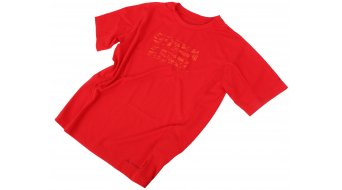 VAUDE Fulmar Kinder-T-Shirt kurzarm indian red