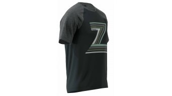 Zimtstern The-Z Tshirt Herren kurzarm Gr. M pirate black/gun metal melange