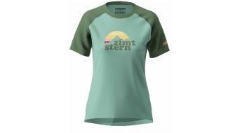 Zimtstern Sunset T-Shirt Damen kurzarm Gr. L granite green/bronze green