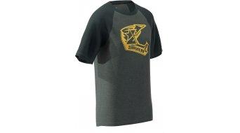 Zimtstern Faze t-shirt manches courtes hommes Gr. S gun métal melange/pirate noir
