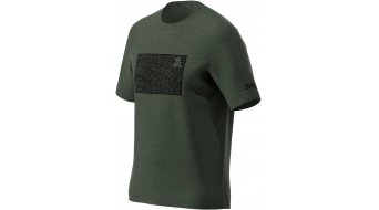 Zimtstern Shiningz T-Shirt kurzarm Herren Gr. M forest night melange