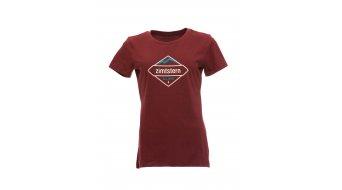 Zimtstern TSW Sanizza t-shirt manica corta da donna mis. M maroon- articolo da esposizione senza segni/danni