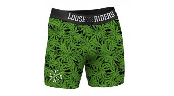 Loose Riders 420 2 Pack mutanda mis. M verde/nero