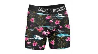 Loose Riders Flamingos 2er Pack Unterhosen Gr. M pink/black/turquise