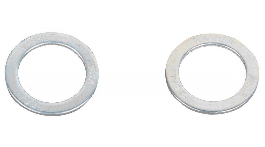 Unterlegscheibe (Paar) für Pedale, Stahl