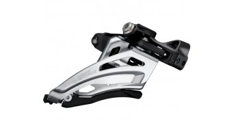 Shimano Deore MTB FD-M6020 Side Swing 2x10 front derailleur Front-Pull black