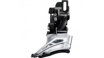 Shimano Deore MTB FD-M6025 Down Swing 2x10 Umwerfer Dual-Pull schwarz