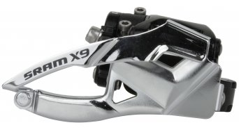 SRAM X9 2x10 front derailleur Low Clamp 31.8/34.9mm Top Pull