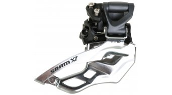 SRAM X7 2x10 deragliatore High Clamp 31.8/34.9mm Pull