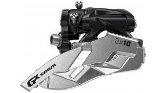 SRAM GX 2x10 Umwerfer Clamp Pull schwarz/silber