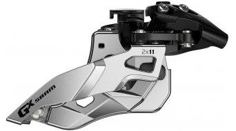 SRAM GX 2x11 Umwerfer Clamp 24/36 Zähne Pull schwarz/silber