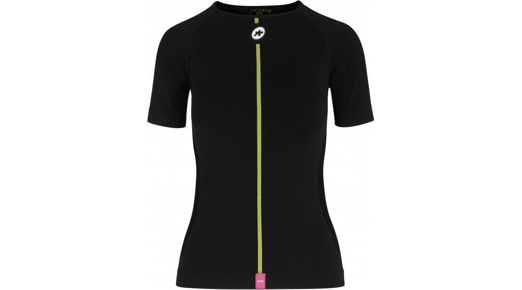 Assos Spring Fall Unterhemd kurzarm Damen Gr. 0 (XS/S) blackSeries