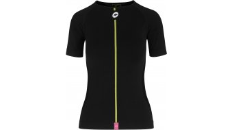 Assos Spring Fall Unterhemd kurzarm Damen blackSeries