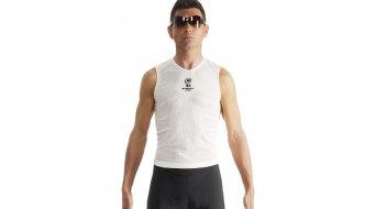 Assos NS.skinFoil S7 undershirt no sleeve summer holyWhite