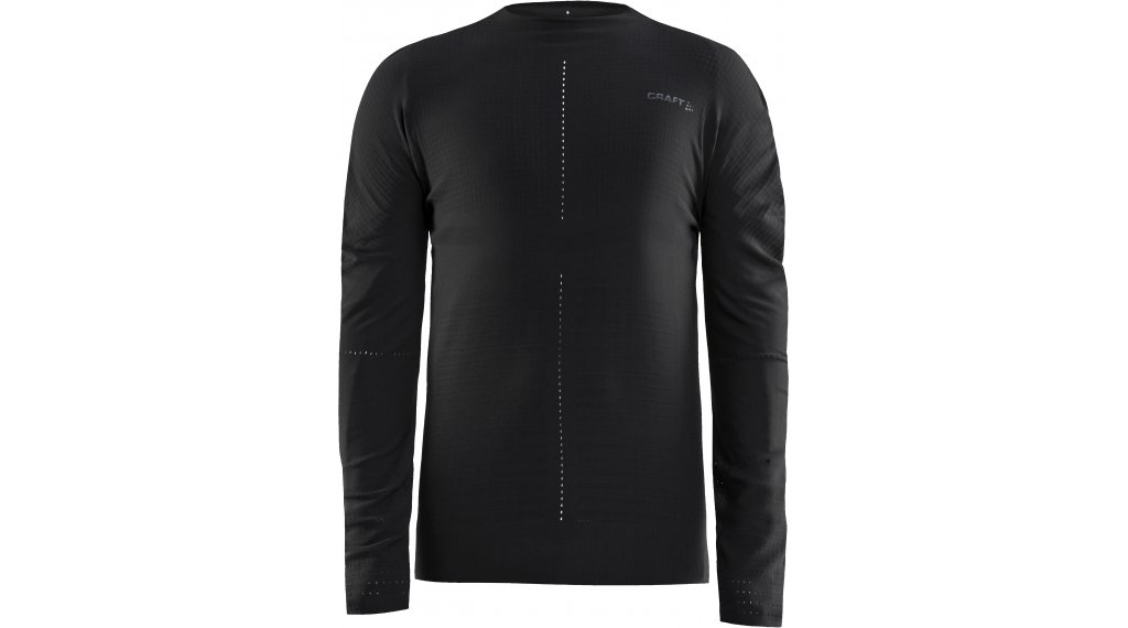 Craft CTM Crewneck Unterhemd Herren langarm Gr. S/M black