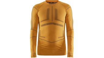 Craft Active Intensity Crewneck Unterhemd langarm Damen Gr. M tiger/asphalt - MUSTERKOLLEKTION