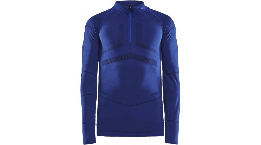 Craft Active Intensity Zip maillot de corps manches longues femmes taille M burst/blaze- MUSTERKOLLEKTION