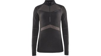 Craft Active Intensity Zip Unterhemd langarm Damen Gr. M  asphalt-touch - MUSTERKOLLEKTION