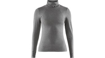 Craft Essential Warm Turtleneck Unterhemd langarm Damen Gr. M dark grey melange - MUSTERKOLLEKTION