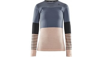 Craft Fuseknit Comfort Blocked Roundneck Unterhemd langarm Damen