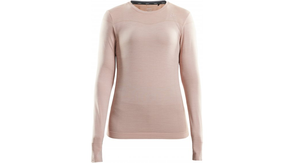 Craft Fuseknit Comfort Roundneck undershirt long sleeve ladies size M touch/melange- MUSTERcollection