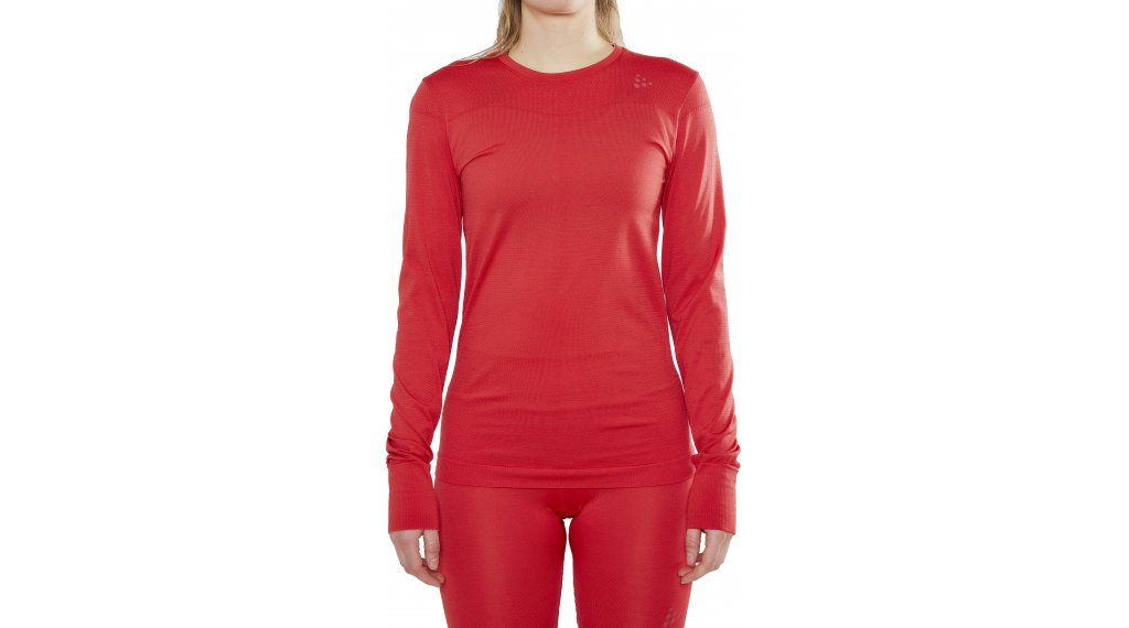 Craft Fuseknit Comfort Roundneck undershirt long sleeve ladies size M beam- MUSTERcollection