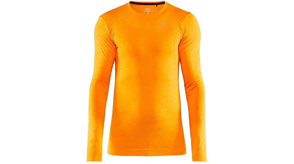 Craft Fuseknit Comfort Roundneck Unterhemd langarm Herren Gr. S tiger