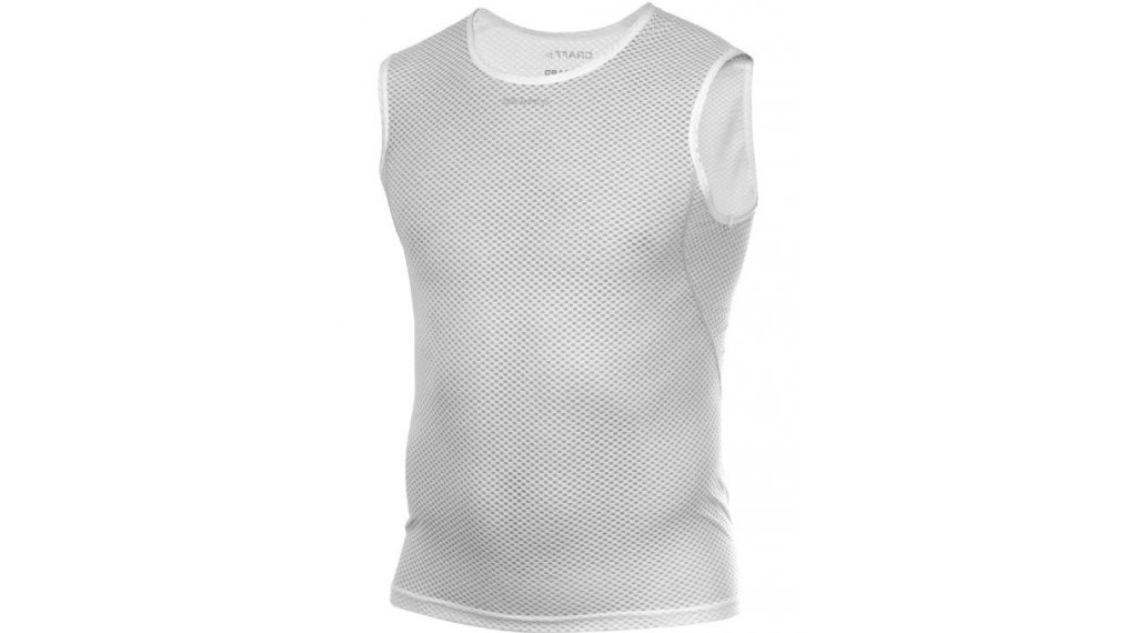 Craft Cool Mesh Superlight Unterhemd ärmellos Herren Gr. L white