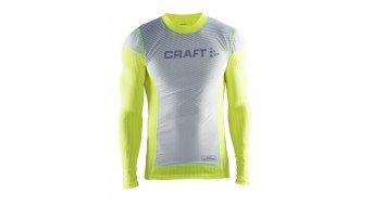 Craft Active Extreme 2.0 Brilliant Crewneck Windstopper Unterhemd langarm Herren flumino/silver