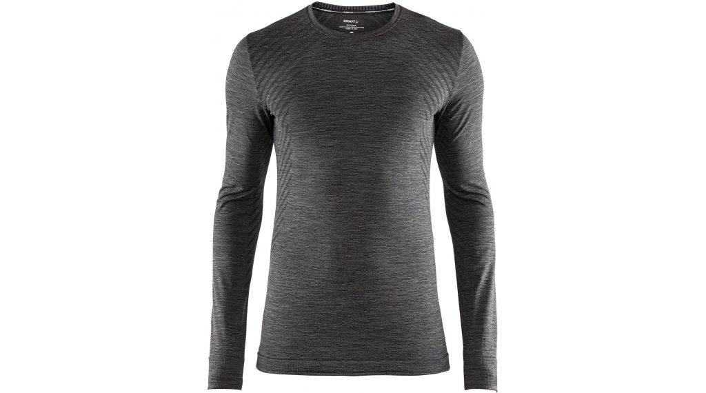 Craft Fuseknit Comfort Roundneck Unterhemd langarm Herren Gr. S black melange