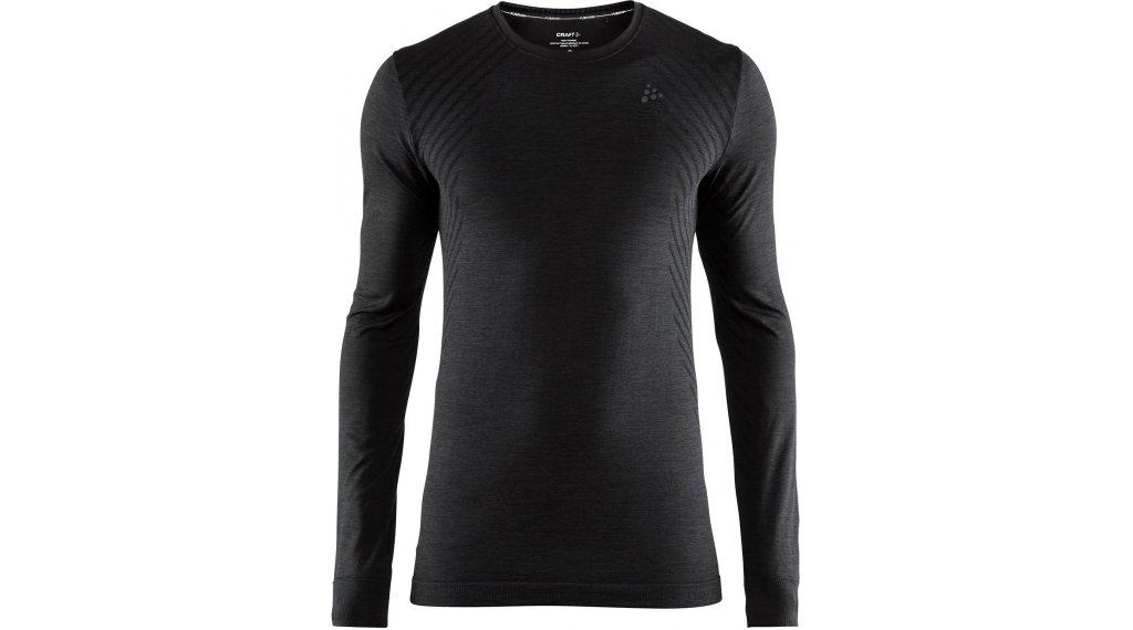 Craft Fuseknit Comfort Roundneck 贴身衣 长袖 男士 型号 S black