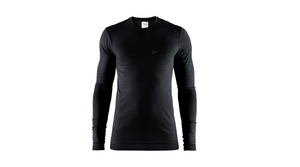 Craft Warm Comfort Unterhemd langarm Herren Gr. S black