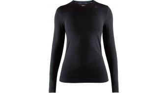 Craft Fuseknit Comfort Roundneck undershirt long sleeve ladies size M black
