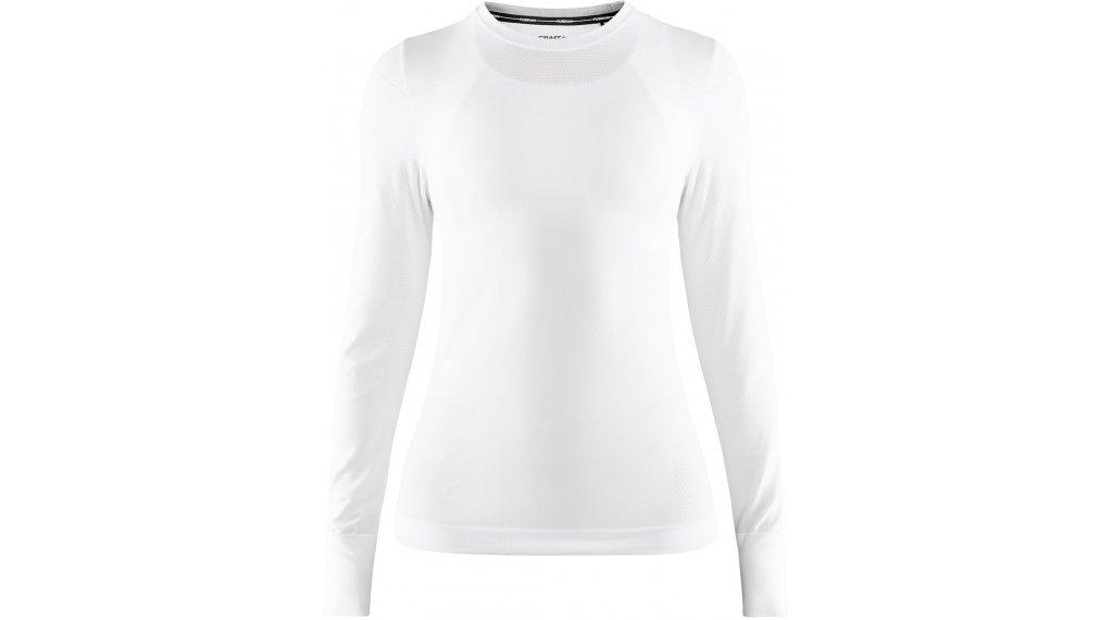 Craft Fuseknit Comfort Roundneck Unterhemd langarm Damen Gr. S white