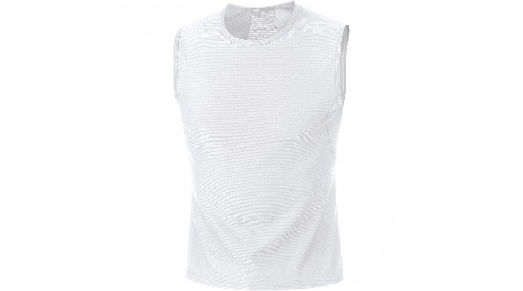 Gore Wear M sottomaglia senza maniche da uomo mis. S bianco