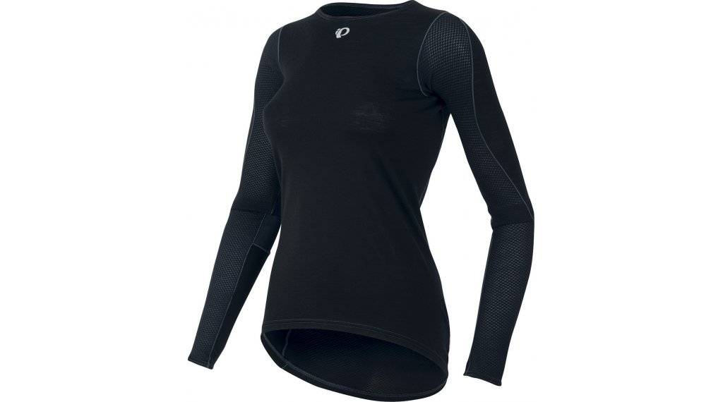 Pearl Izumi Transfer Wool Cycling Unterhemd langarm Damen Gr. L black