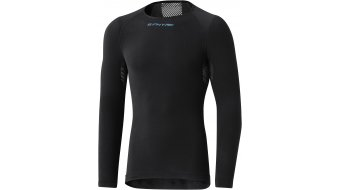 Shimano S-Phyre hiver maillot de corps manches longues hommes taille black