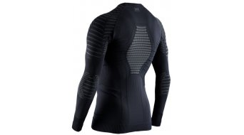X-Bionic Invent 4.0 Round Neck Unterhemd langarm Herren Gr. M black/charcoal