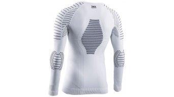 X-Bionic Invent 4.0 Round Neck Unterhemd langarm Herren Gr. M white/black