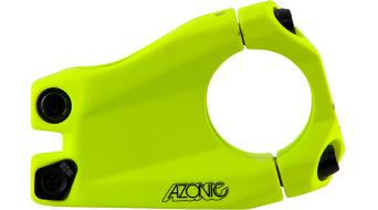 "Azonic Baretta Evo kormányszár 1 1/8"" 31.8x40mm neon yellow 2016 Modell"