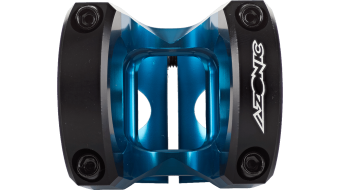 "Azonic The Rock Vorbau 1 1/8"" 31.8x45mm blue"