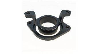 NC-17 Gyro Vorbau Adapter Upper/Lower black