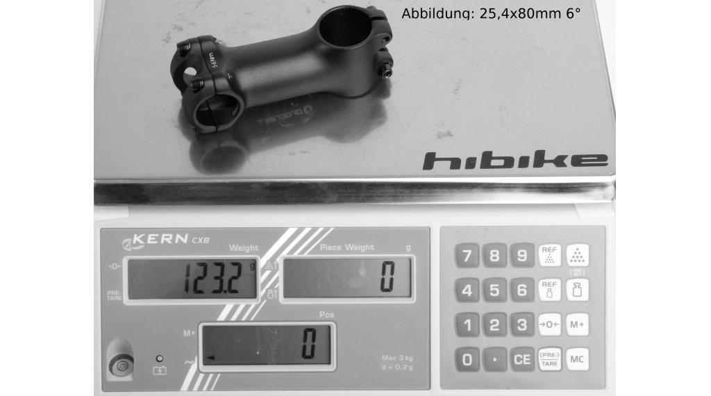 Procraft SL stem 31.8x60mm 25° aluminium black
