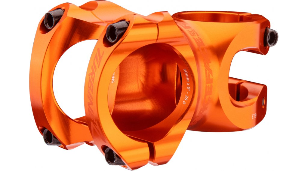 RaceFace Turbine R attacco manubrio 35.0x32mm arancione