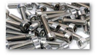 Renthal Vorbauschrauben für Integra 35 10° silver