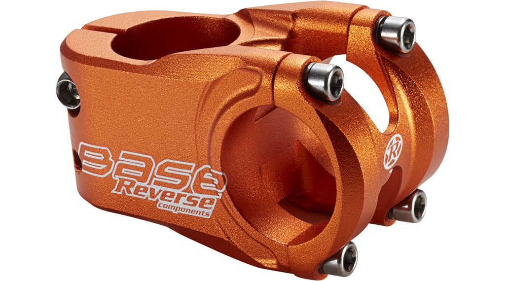Reverse Base stem 31.8x40mm 0° orange