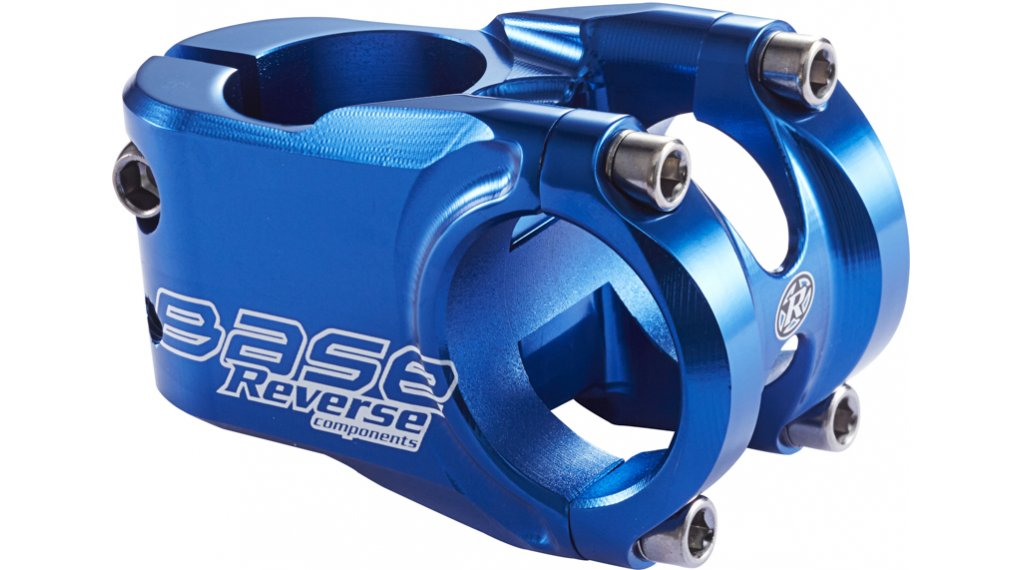 Reverse Base stem 31.8x40mm 0° dark blue