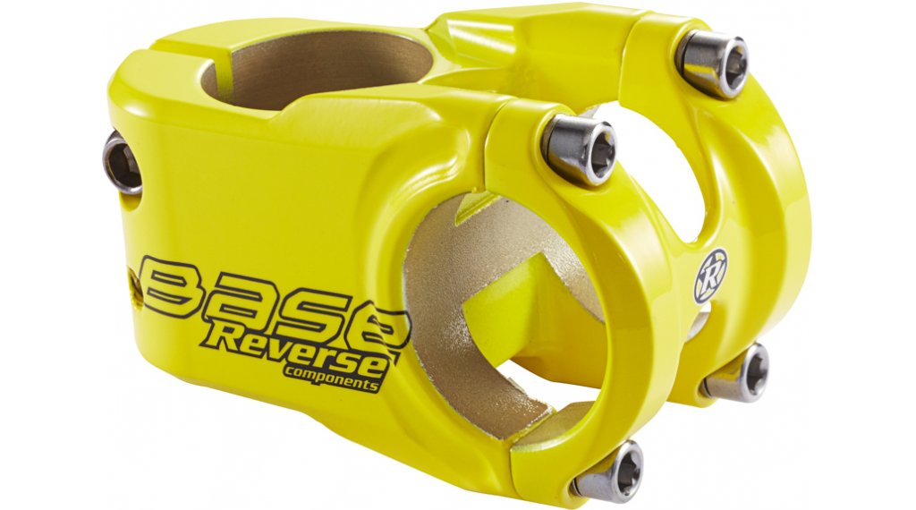 Reverse Base stem 31.8x40mm 0° yellow